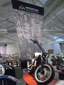 DINERS motorcycle featured in MotoStars: Celebrities + Motorcycles